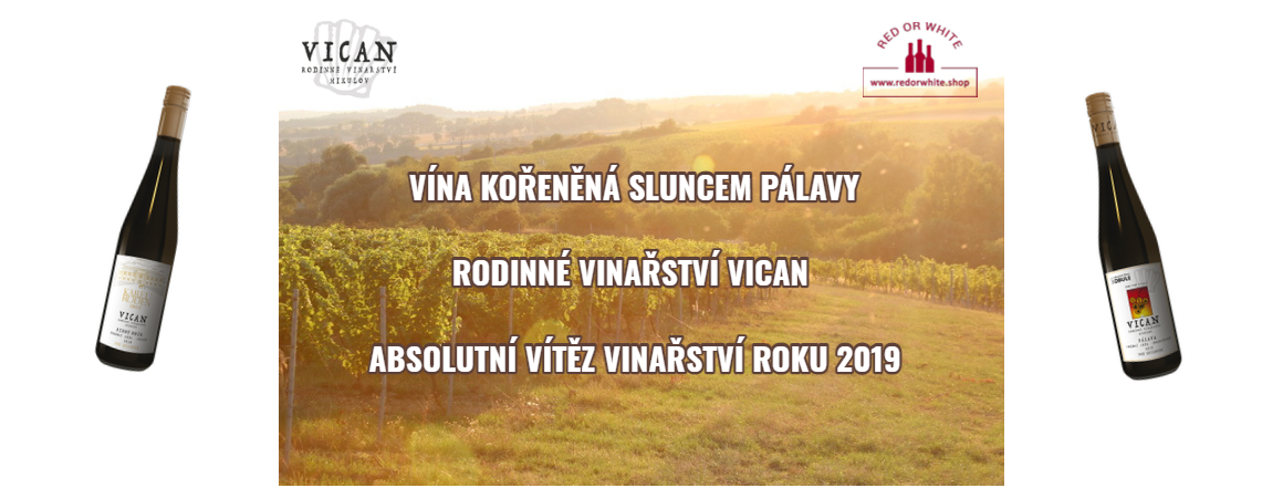 Vican rodinné vinařství - výjimečná vína z Pálavy