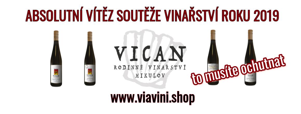 Vican rodinné vinařství - absolutní vítěz soutěže Vinařství roku 2019