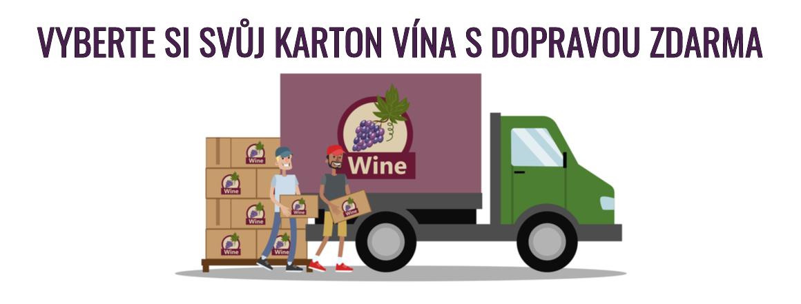 Vína s akcí DOPRAVA ZDARMA!