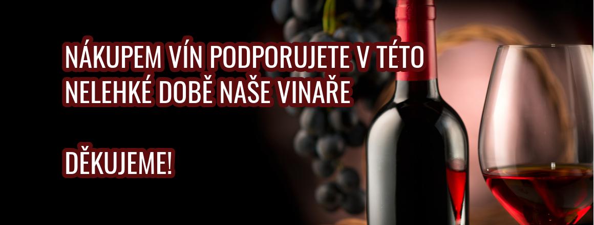 Děkujeme za podporu našich vinařů