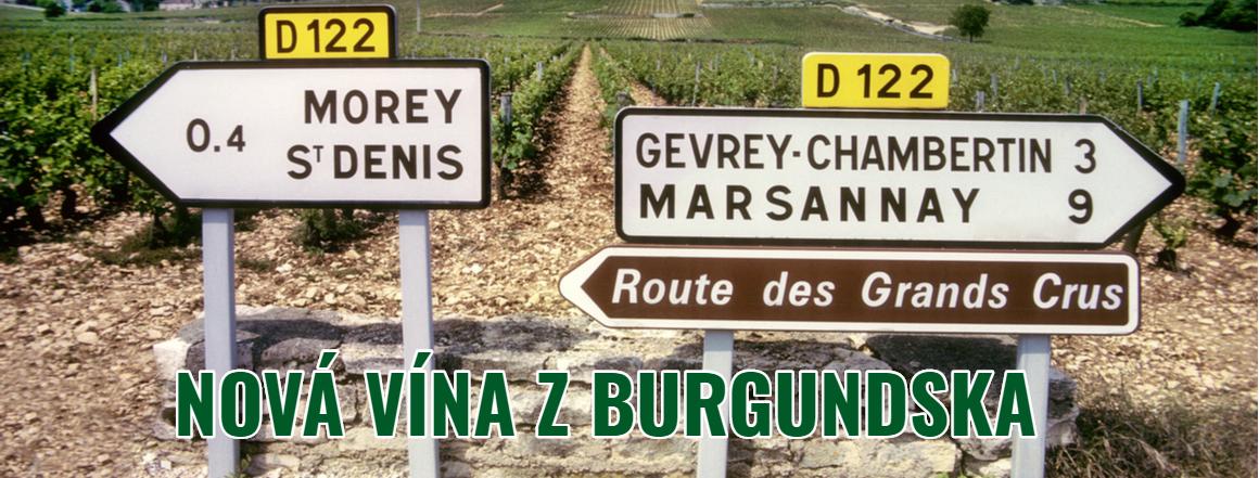 2Nová nabídka vín z Burgundska !
