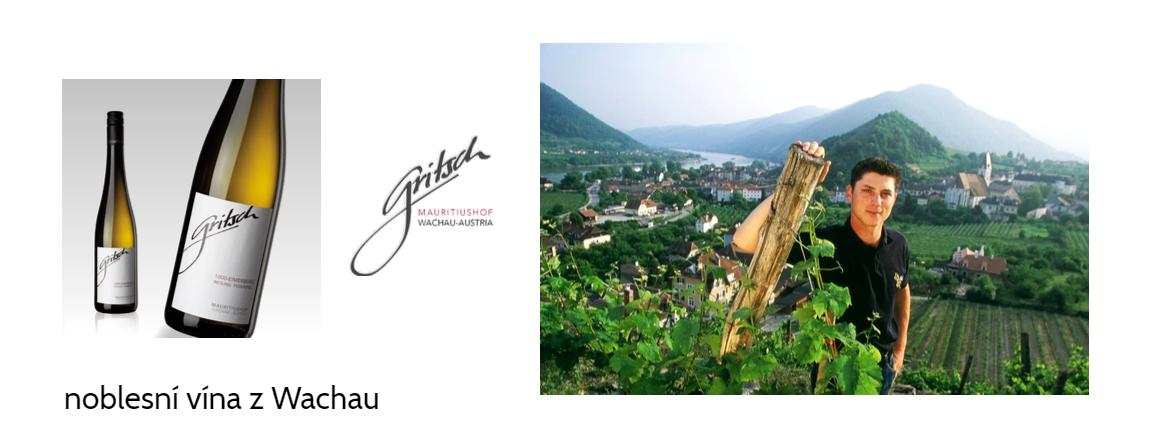 Rakouská vína z Wachau - F.J. Gritsch