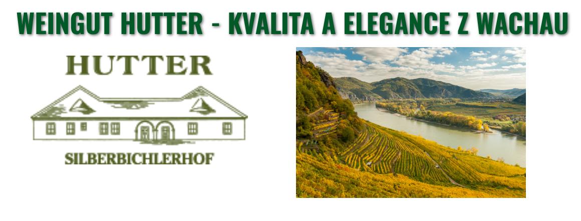 Novinka v našem e-shopu - Weingut Hutter - kvalita a elegance z WACHAU