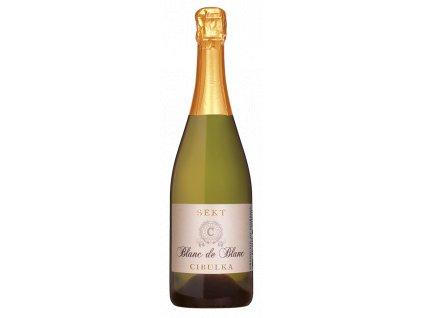 sekt blanc de blanc vino cibulka