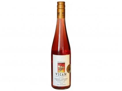 cuvee cabernet sauvignon frankovka rose pozdnisber vican