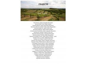 Degustace Francie výběr vinařství