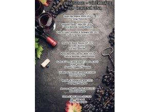 degustace vyber top cervena vina italie