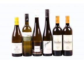 Degustační sada Rakousko - bílá vína - výběr - 6 láhví