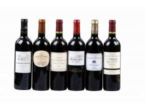 Degustační sada Bordeaux - super červená vína za výhodnou cenu  zvýhodněná cena