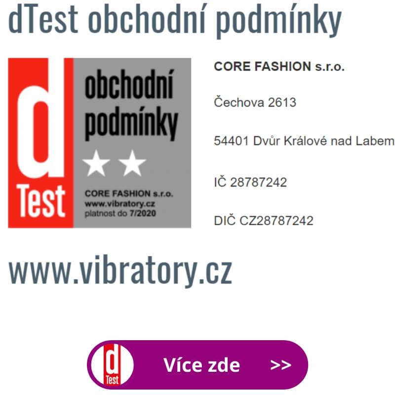 dTest prověřil naše obchodní podmínky e-shopu Vibrátory.cz