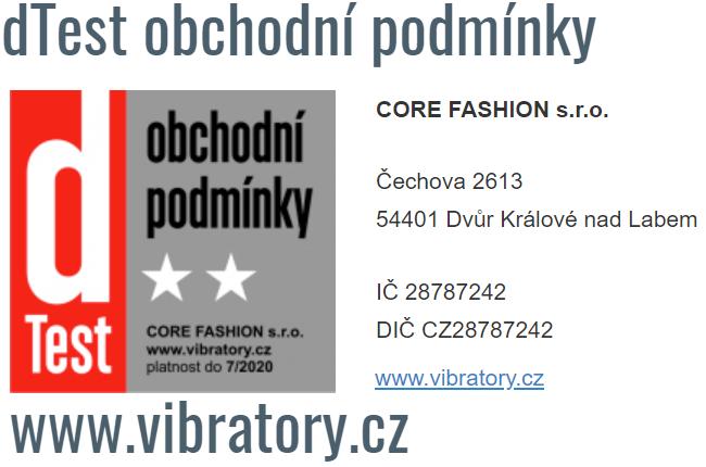 Vibrátory.cz - ověřeno dTestem v roce 2019