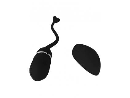 vibracni vajicko na dalkove ovladani kvalitni Super X Vibrating Egg (black)