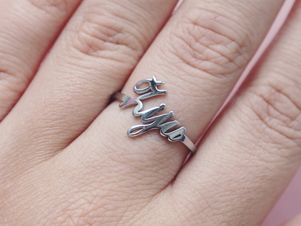 Prsten stříbrný Žiju