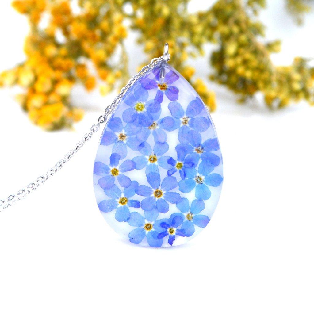 žlutorůžový náhrdelník (2)