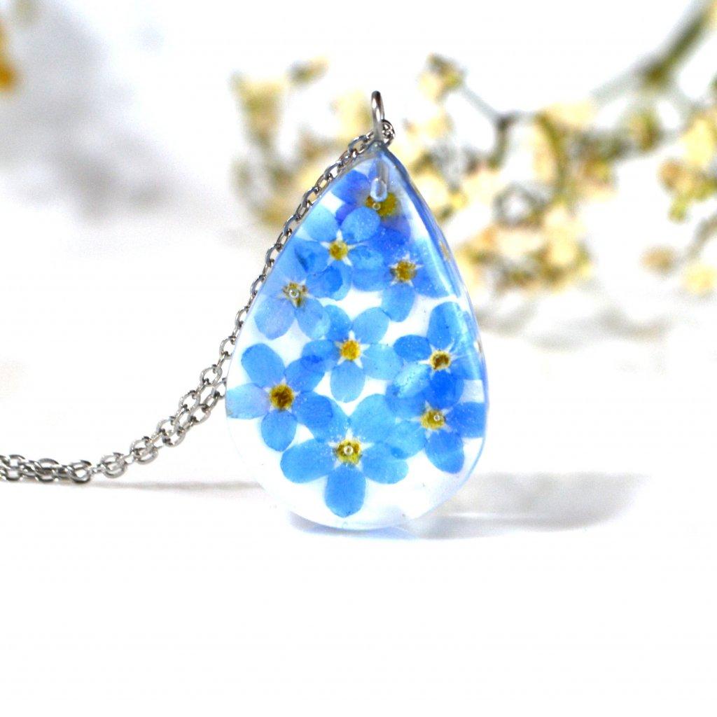 pomněnkový náhrdelník (4)