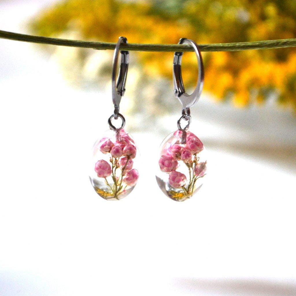 růžové náušnice (2)
