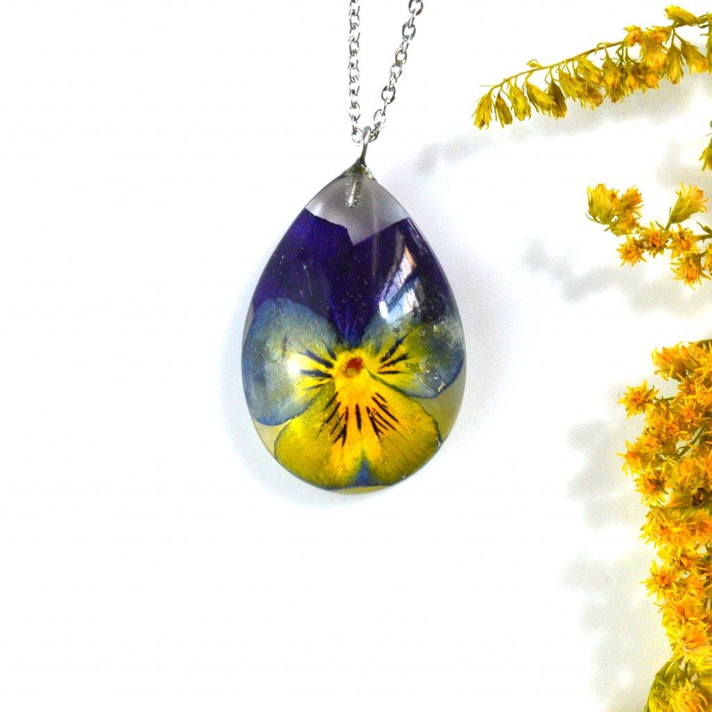 maceška náhrdelník (2)