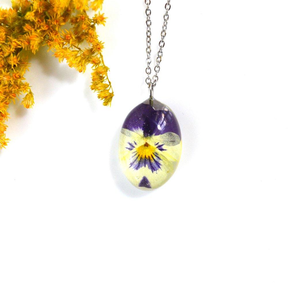 náhrdelník maceška (2)
