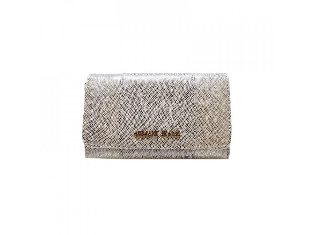 Dámská peněženka Armani Jeans 928085 7P763 STRIBRNA