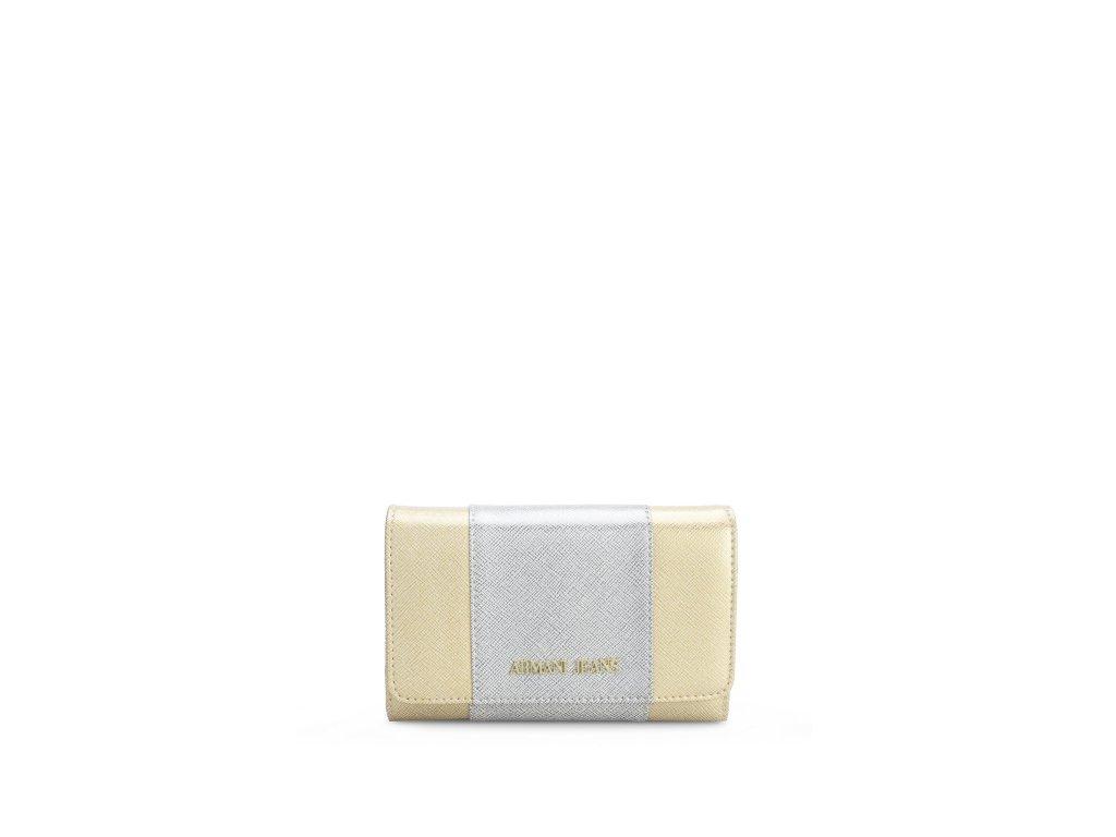 Dámská peněženka Armani Jeans 928085 7P763 ZLATA/STRIBRNA