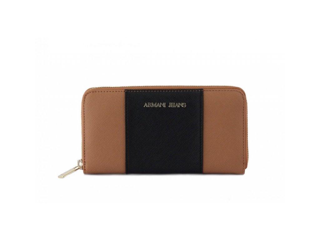 Dámská peněženka Armani Jeans C5V88 HNEDA