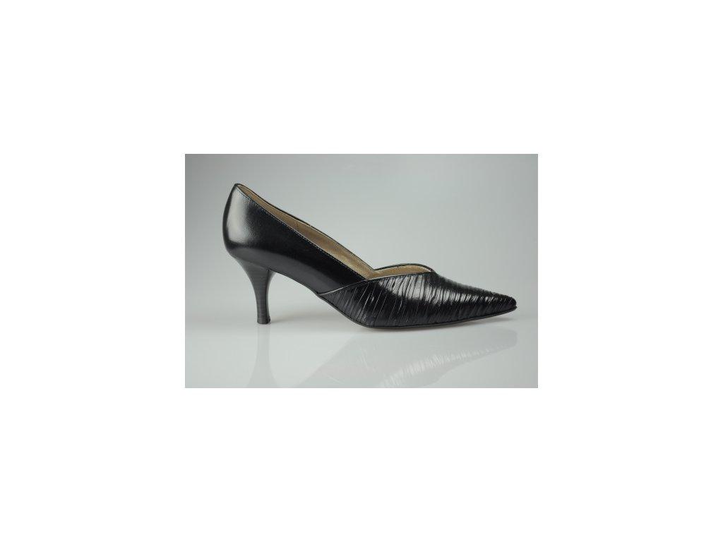Dámská společenská obuv Gabor na podpatku (Velikost 38)