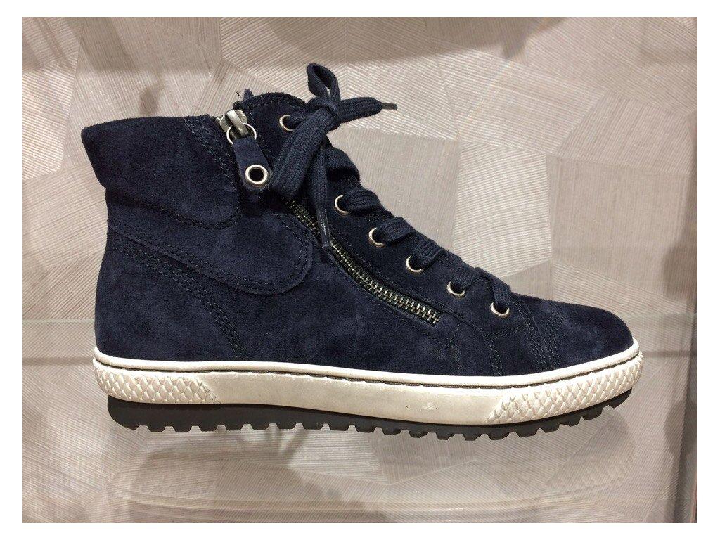 Dámské kotníkové zimní boty Gabor - ocean (Velikost 41)