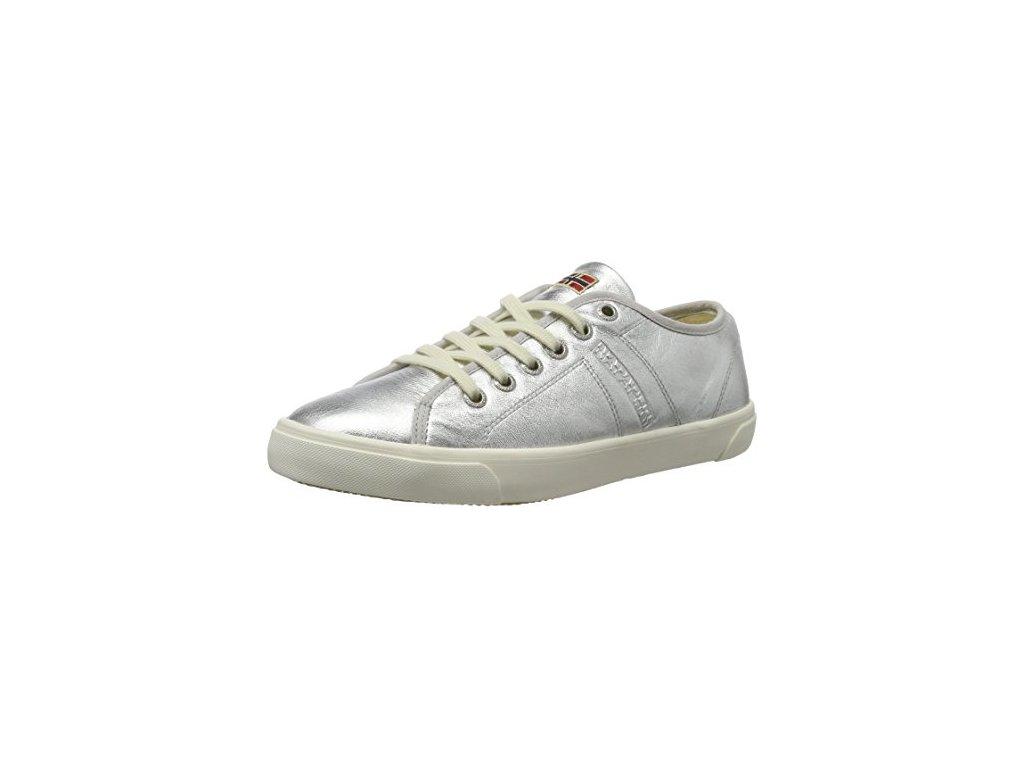 Dámské tenisky Napapijri stříbrné (Velikost 39)