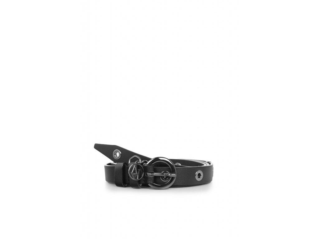 Dámský pásek Armani Jeans - NERO 921063 7A300 NERO