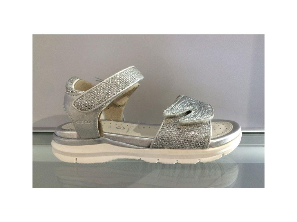 Dětská obuv GEOX silver (Velikost 33)