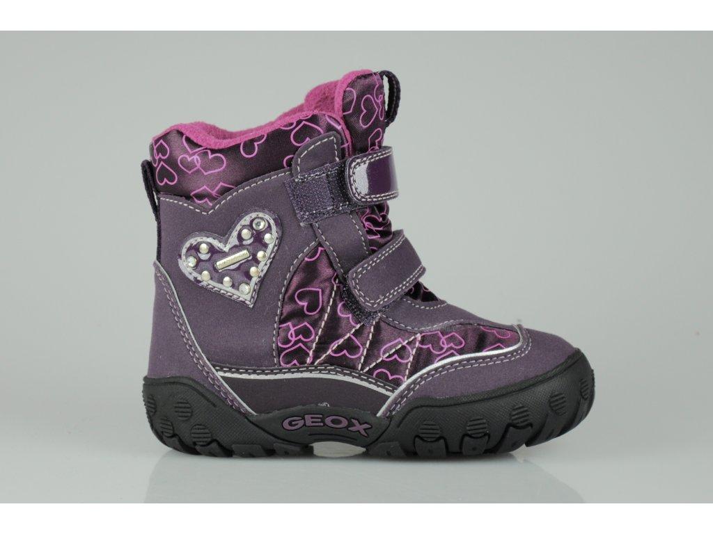 Dětská zimní obuv GEOX- AMPHIBIOXX (Velikost 25)