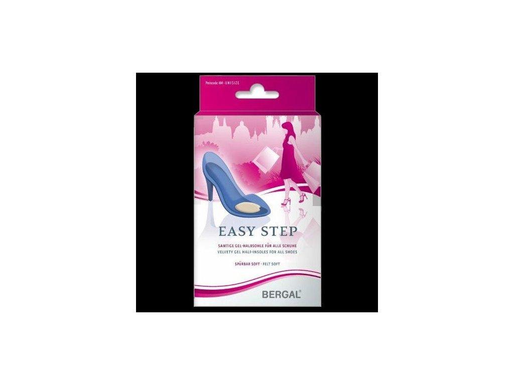 Easy step - sametové gelové polovložky do obuvi