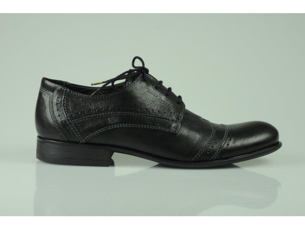 Pánská obuv Camel Durban černá (Velikost 44.5)