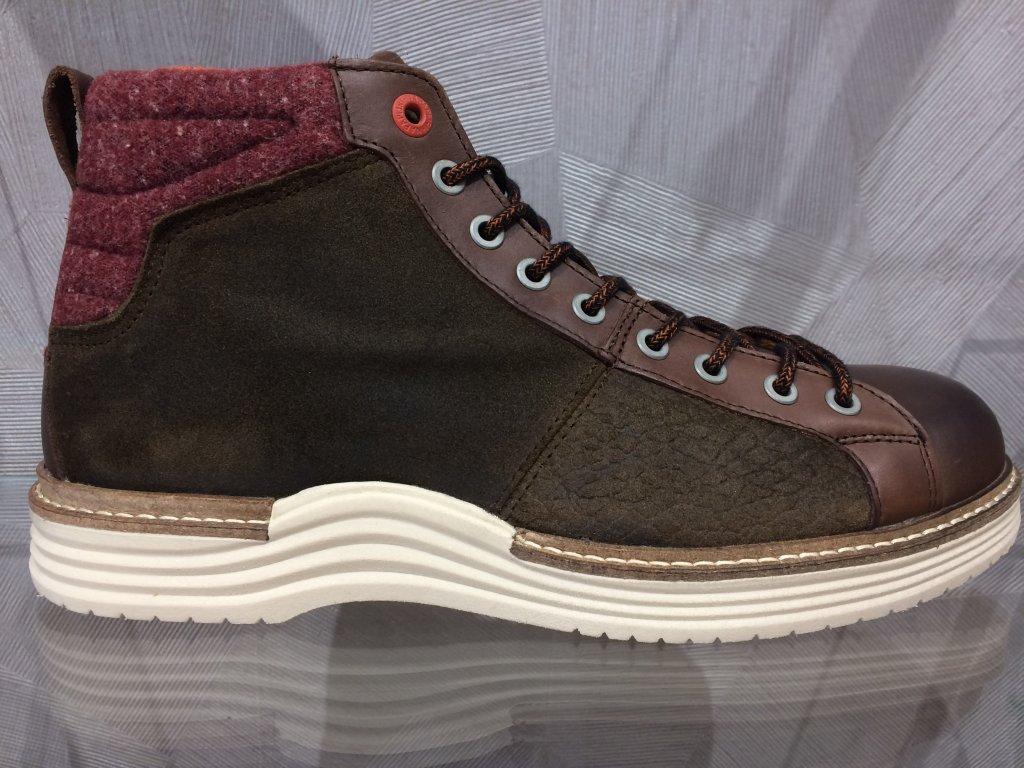 Pánská obuv Napapijri - hnědá (Velikost 44)