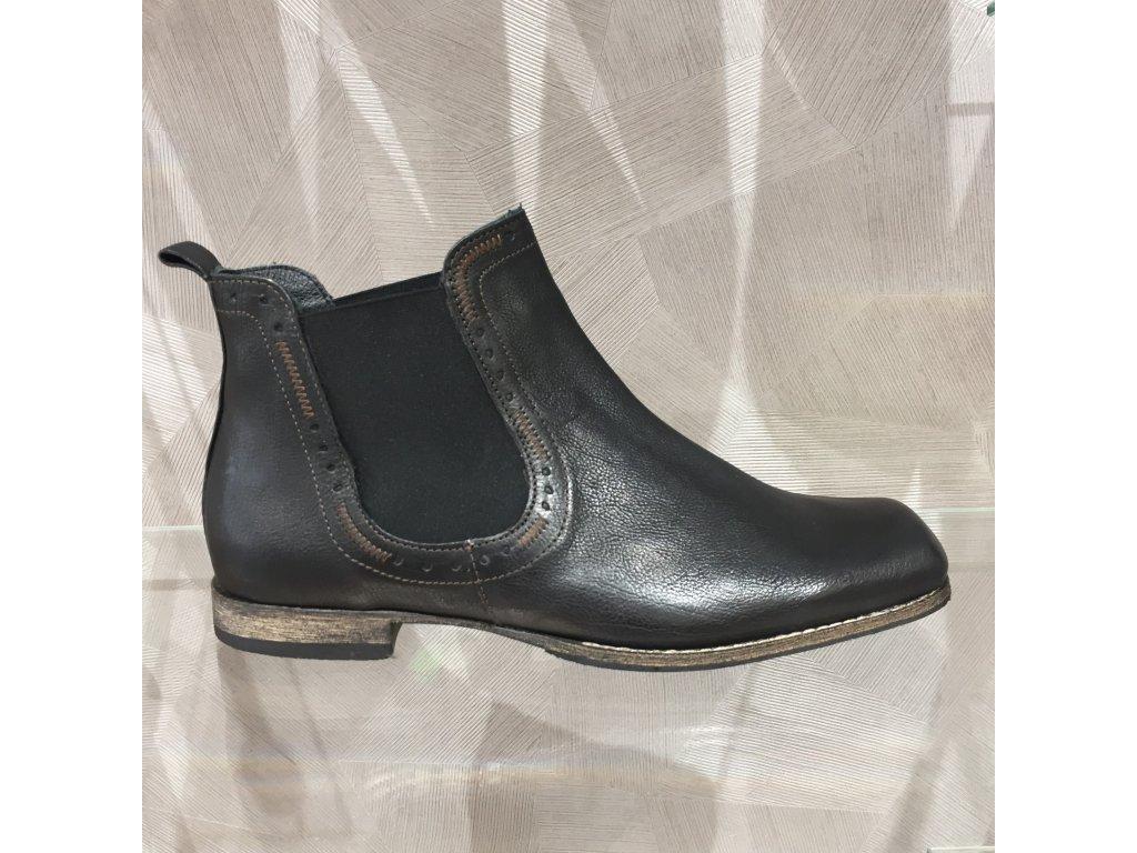 Pánská obuv Think Guru - tmavě hnědá (Velikost 45)