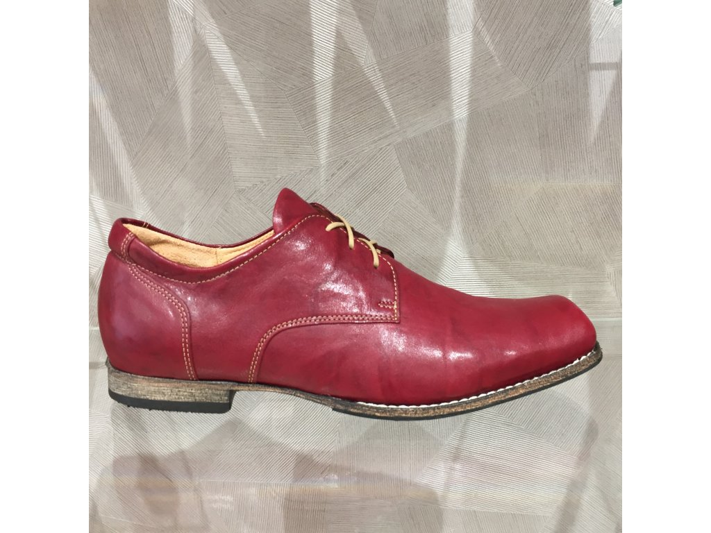 Pánská obuv Think Guru - vínovo-červená (Velikost 45)