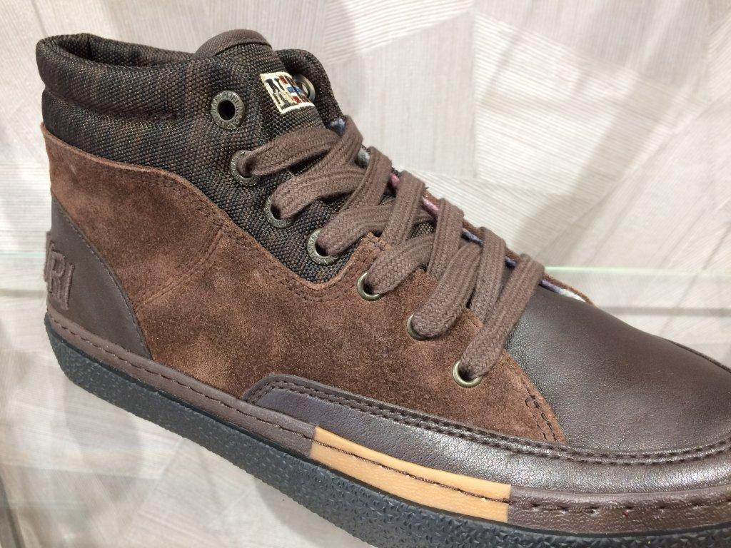 25ad367174b ... Pánské kotníkové boty Napapijri - tmavě hnedá (Velikost 45) ...