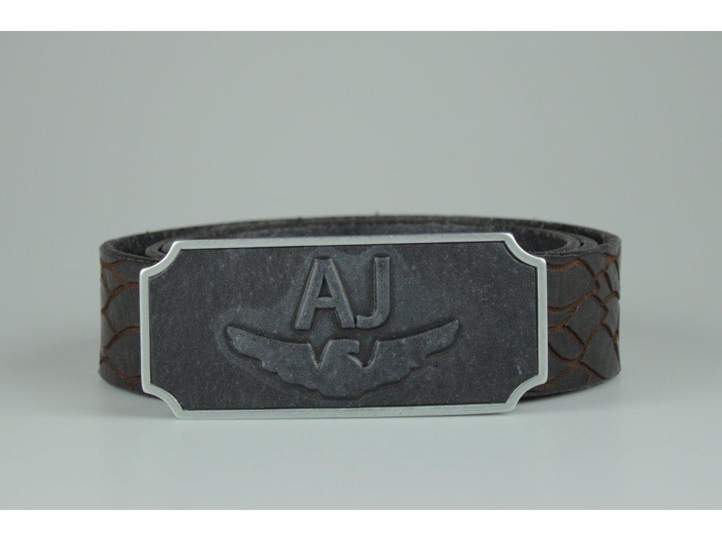 Pánský pásek Armani Jeans-hnědý