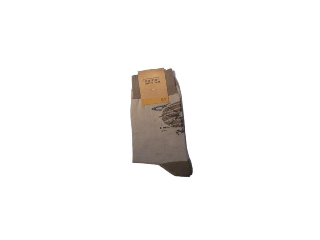 Ponožky Camel Active 6506050 béžové (Velikost 47-50)