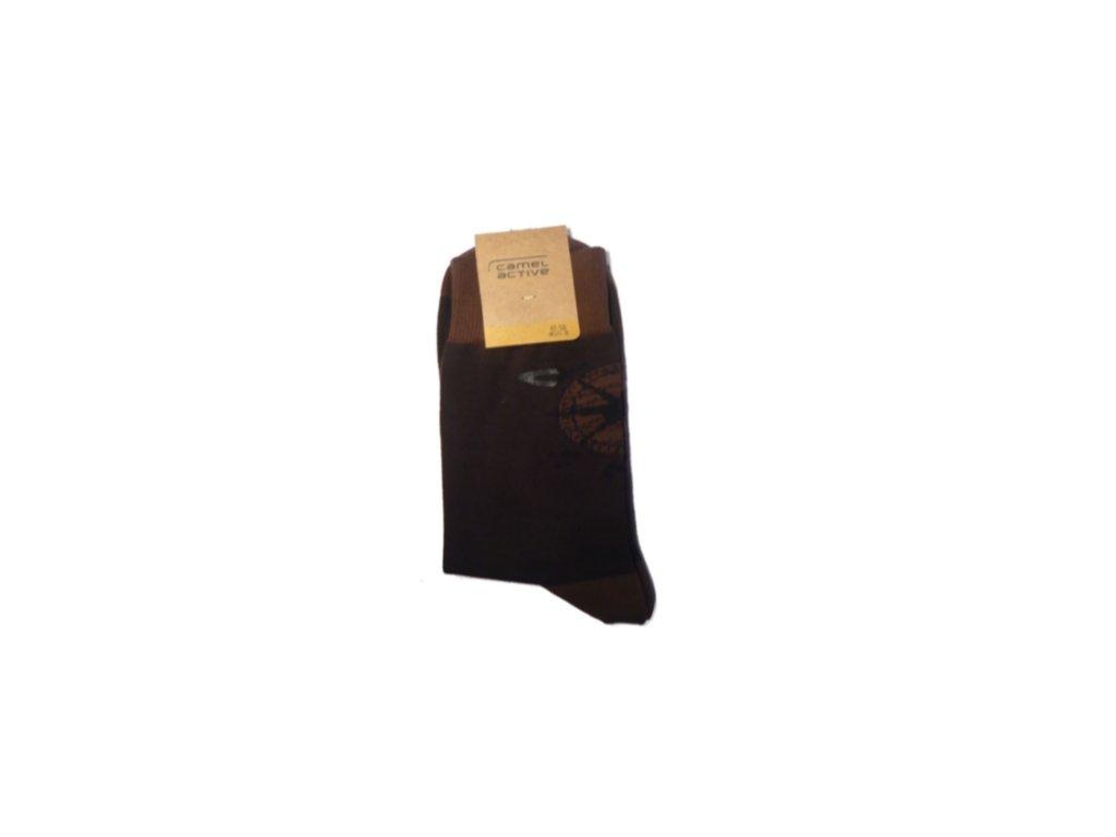 Ponožky Camel Active 6506823 hnědé (Velikost 47-50)