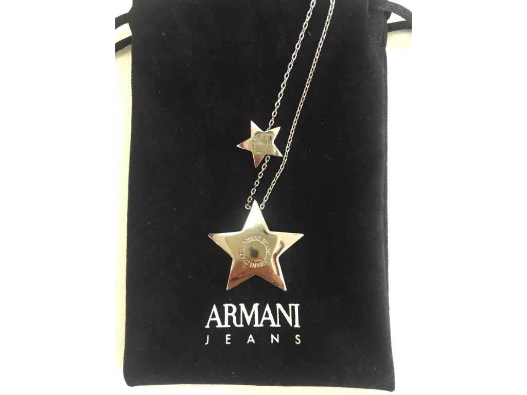 Řetízek na krk Armani Jeans