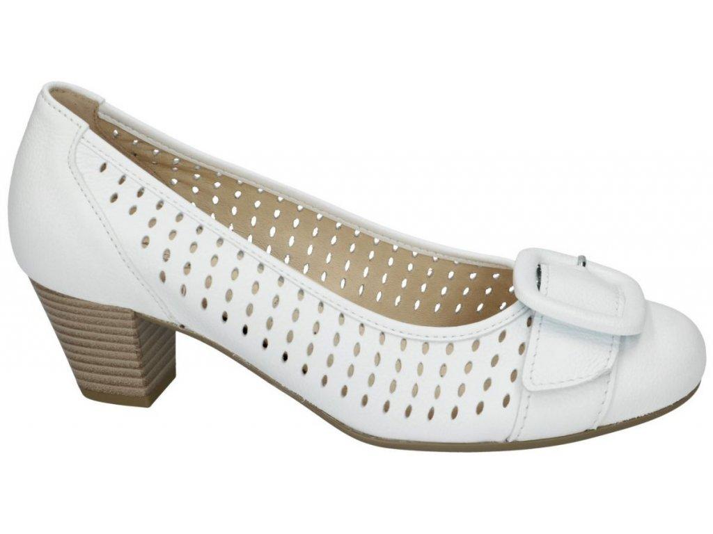 schoenen gabor pump wit 2548421 4527 0