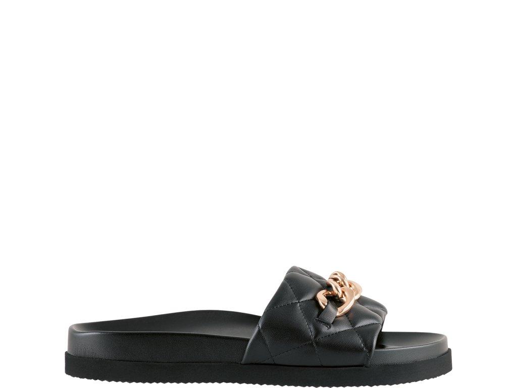 Dámské pantofle Hogl 1-100810 černá