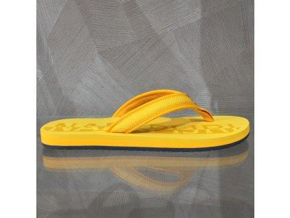 Dámské žabky Napapijri - žlutá (Velikost 39)