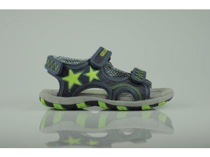 Dětské sandálky Geox modré (Velikost 34)