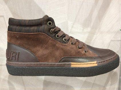 Pánské kotníkové boty Napapijri - tmavě hnedá (Velikost 45)