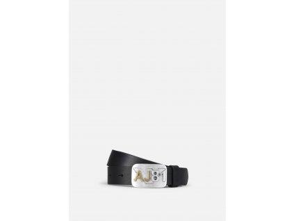 Pánský pásek Armani Jeans - NERO