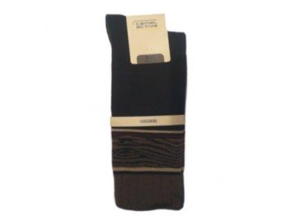 Ponožky Camel Active 6607184 dlouhé - hnědé (Velikost 39-42)