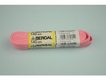 Tkaničky růžové 140 cm 6051