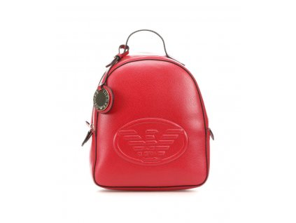 emporio armani backpack ruby red y3l024 yh18a 80133 31